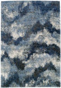 Casual area rug